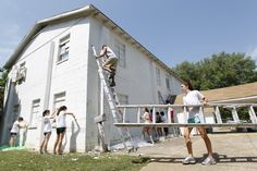 """In 1985, Baylor students began a tradition of serving Waco. We call it """"Steppin' Out."""""""
