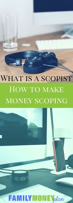 How to Make Money as a Scopist | Work at Home | Work for People Who Love Words | Making Money | What is a scopist? | via @familymoneyplan