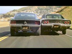 '68 Charger & '68 Mustang in Bullitt