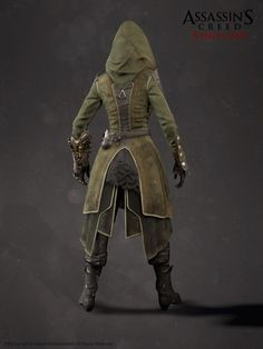 ArtStation - Assassin's Creed Syndicate - Lydia Frye Suit, Hugues Thibodeau