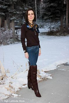 #over40 Casual winter outfit   | High Latitude Style | http://www.highlatitudestyle.com