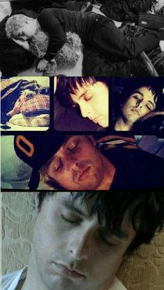 Sleeping Billie looking so cute )