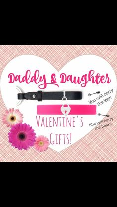 This is the PERFECT Valentine's Day gift from mom! I love this idea for a daddy/daughter gift. Dad's is our key fob with key and daughter is a bracelet with the lock heart. Keep-collective.com/with/carrietucker Cut off date for a Valentine's Day delivery is February 8th #valentinesday #daddy/daughter #love #heart #leather #keytomyheart