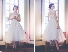 Kate Moss' John Galliano vintage inspired wedding dress