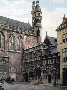 The Chapel-Bruges Belgium
