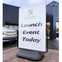 Cyclone 2 Large Format Forecourt Sign