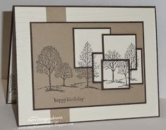 Simply Sara Stampin': Layered Lovely as a Tree