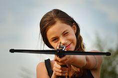 Oh girl, where is your arrow ? :D