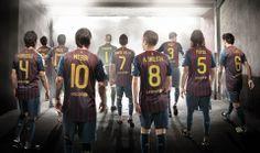 FC Barcelona Team FCB NIKE