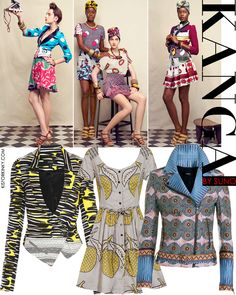 I love how African prints (Kanga) are in style now! ~Latest African Fashion, African Prints, African fashion styles, African clothing, Nigerian style, Ghanaian fashion, African women dresses, African Bags, African shoes, Kitenge, Gele, Nigerian fashion, Ankara, Aso okè, Kenté, brocade. ~DKK