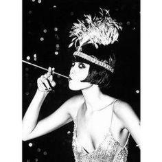 Era do Jazz // gatsby news years Flapper Girls, Flapper Era, Flapper Style, Flapper Makeup, Flapper Hair, Flapper Wedding, Flapper Costume, Flapper Dresses, 1920s Wedding