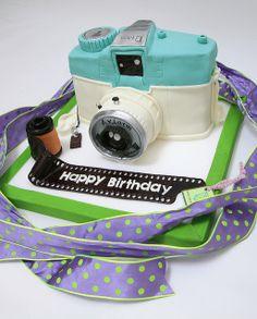 LOMO CAMERA BIRTHDAY CAKE @ M CAKES by MASARU MIYASHITA, via Flickr