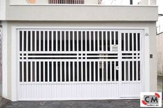 Pergola In Front Of Garage Window Grill Design, Fence Design, Door Design, House Design, House Front Gate, Front Gates, Steel Gate Design, Iron Gate Design, Pergola Attached To House