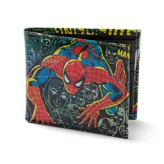 Marvel Comics Spider-Man Wallet T-Shirts # Gifts For Teens, Gifts For Friends, Gaming Merch, Geek Fashion, Geek Culture, Spiderman, Batman, Comic Art, Marvel Comics