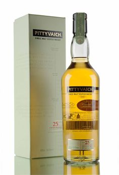 A rather special bottling, considering that this release lived longer that the distillery itself. Pittyvaich distillery was established in 1975 then sadly closed in 1993.... This limited edition release was distilled in 1989 and aged in American oak hogsheads and first fill ex-bourbon barrels, before being bottled in 2015 at natural cask strength, 49.9% vol.