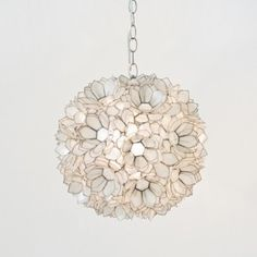 capiz shell floral pendant light white target mobile wish list