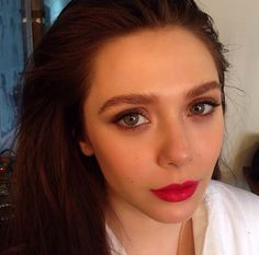 Elizabeth Olsen.. love her eyebrows