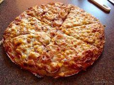Zabpelyhes pizza (extra diétásan) recept kalóriaértékkel
