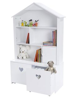 Little ones feel specially welcome in this cosy children's room. Kids Furniture, Bedroom Furniture, Furniture Design, Baby Bedroom, Girls Bedroom, Childs Bedroom, Girl Rooms, Green Girls Rooms, Deco Kids