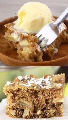 Aug 2019 - Apple Walnut Cake is a moist snack with and walnuts in every bite. It's one of the best apple to make during the apple picking season! This cake is so full of flavor that no frosting is needed. A simple dusting powdered sugar will do! Apple Cake Recipes, Apple Desserts, Dessert Recipes, Best Ever Fruit Cake Recipe, Best Banana Cake Recipe Moist, Apple Walnut Bread Recipe, Simple Apple Recipes, Best Apple Recipes, Walnut Pie