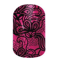 Black and Magenta Lace Jamberry Nail Shields, Nail Wraps - Buy Jamberry Nails Nail Art Studio, Lace Nails, Jamberry Nail Wraps, Pretty Hands, Nail Trends, Trendy Nails, Beauty Nails, Fun Nails, Hair And Nails
