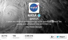 Fotos Twitter de portadas de la NASA