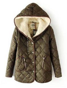 Fashion Moda, Look Fashion, Winter Wear, Autumn Winter Fashion, Plus Sise, Pret A Porter Feminin, Cardigan, Outerwear Women, Quilted Jacket