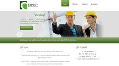 Dla firmy BHP Expert przygotowaliśmy stronę internetową w oparciu o autorskiego CMS-a.