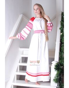 00b45c849ff 52 Best Casual Linen Dresses Russian style images