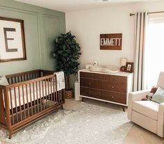 Baby Boy Nursery Room İdeas 399976010658330284 - 14 x Rectangle Name Sign Baby Nursery Furniture, Baby Nursery Decor, Baby Decor, Nursery Room, Green Nursery Girl, Children Furniture, Project Nursery, Baby Room Green, Calming Nursery