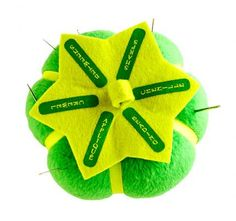 Clover Sort 'N Store for Hand Sewing Needles What: The Sort 'n Store for Hand Sewing Needles by Nancy Zieman is a fresh update to the standard pincushion.   Why: Six labeled sections—appliqué, crewel, betweens, sharps, chenille, and beading—keep needles in order.