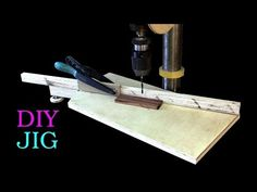 Drill Press Table with a swivel fence you never saw before - YouTube