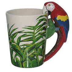 Puckator SMUG29 Kaffeebecher Papagei, 13%C2%A0x%C2%A08,5%C2%A0x%C2%A013%C2%A0cm Puckator http://www.amazon.de/dp/B00KW6G35I/?m=A105NTY4TSU5OS