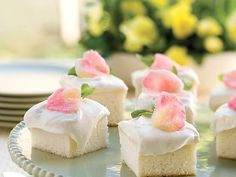 This classic angel food cake is the perfect dessert base for your next party. Cut the finished cake into single-serve portions for...