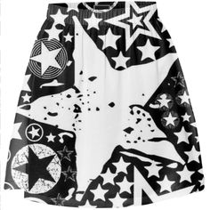 Shop STARRY STARRY NIGHTS 2 Summer Skirt by THE GRIFFIN PASSANT STREETWEAR STREETWEAR | Print All Over Me