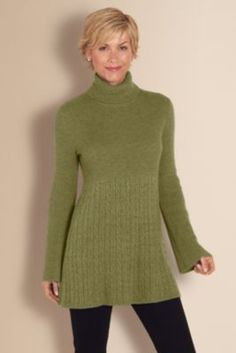 Michelle Sweater - Women's Clothing, Misses Size, Classic Fit Sweater, Cashmere Blend | Soft Surroundings