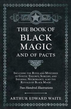 Black Magic Spell Book, Witch Spell Book, Black Magic Spells, Wiccan Magic, Occult Books, Witchcraft Books, Magick Book, Occult Symbols, The Rite