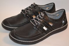 Marpol Men's Black Handcrafted Leather Shoes