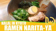 Halal Ramen Narita-ya is one of the places you'd want to put into your travel plans in Kyoto. Located near key tourist sites, this is a welcome stop for lunch and dinner!