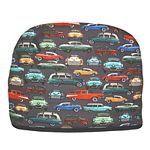 """Tea Cozy - Retro Cars Tea Cozy - Insulated Tea Cozy by Blue Moon Fine Teas. $29.95. Look for other Tea Cozy Colors and Designs in Blue Moon Tea's Amazon store.. Measured from inside 9 1/2 """" H x 12"""" L x 7 W. Made in the USA. 100% cotton - quilted item polyester filled.. Teapot Cozy covers 2 Cup, 4 Cup, or 6 Cup Teapot.. A beautiful way to keep your Teapot covered and your Tea warm. Our Retro-Cars Tea Cozy is elegant, whimsical and stylish, with a nostalgic vintage multi-colored ..."""