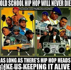 """Us old heads are """"WISE"""". Todays wack ass generation of hip-hop can't fade us nor SEE US. Mode Hip Hop, Hip Hop And R&b, Hip Hop Rap, East Coast Hip Hop, West Coast, History Of Hip Hop, Hip Hop Classics, Hip Hop Party, Dance Movies"""