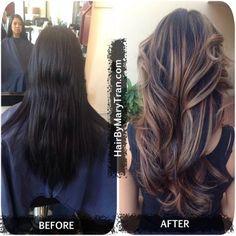Color Correction Balayage Ombre Highlights and haircut | Yelp