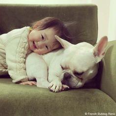 ドキドキ、ハラハラ❤️ #frenchbulldog #frenchie #dog #daughter #babygirl #フレンチブルドッグ #女の子