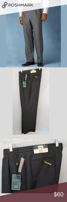 daad43ba75a4 Ralph Lauren Total Comfort Wool Dress Pants ~42x32 LAUREN by RALPH LAUREN