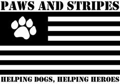 Paws and Stripes provides service dogs for military veterans with post-traumatic stress disorder and traumatic brain injury.
