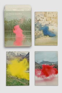 "Limited edition ""Silence/Shapes"" series by Filippo Minelli   (via Erin Loechner)"