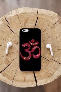 Let the vibrations of Om clear your energy and chakras. Find wholeness and healing in this easy to remember chant. The phone case is available for iPhone and Samsung. Samsung Cases, Iphone Cases, Yoga Gifts, Chakras, Om, Healing, Easy, Chakra, Iphone Case