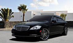 "Asanti Wheels, the leader in custom luxury wheels.  Mercedes S550 with 22"" DA-175"