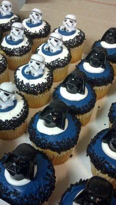 Star Wars cupcakes: