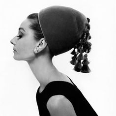 Audrey Hepburn by Cecil Beaton in Vogue 1964